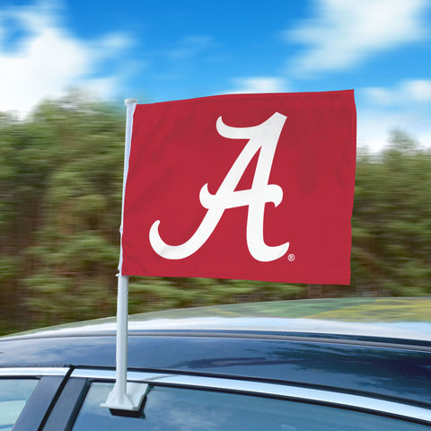 "Alabama Crimson Tide 11""x14"" 2-Sided Window Mounted Car Flag"