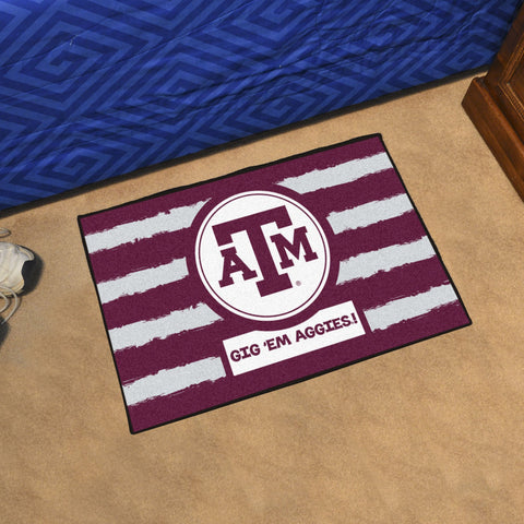 "Texas A&M Southern Style Area Rug 19""x30"""