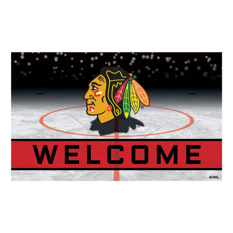 Chicago Blackhawks Crumb Rubber Door Mat