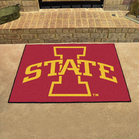 Iowa State University All Star Area Rug Mat Model 10