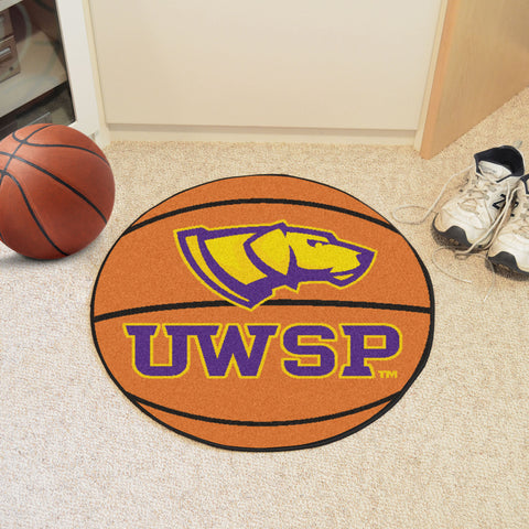 University Of Wisconsin-Stevens Point Basketball Mat