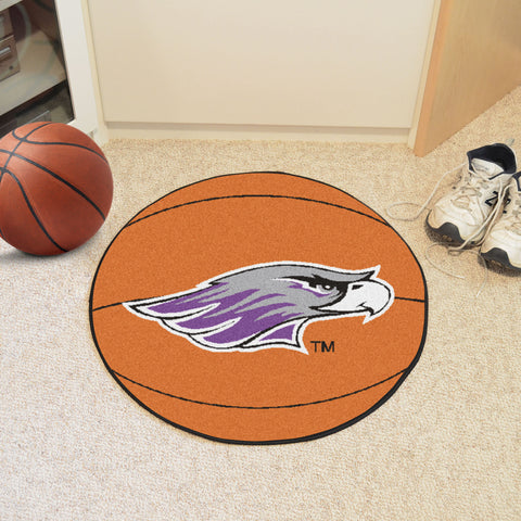 University Of Wisconsin-Whitewater Basketball Mat
