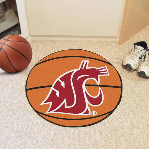 Washington State University Basketball Mat