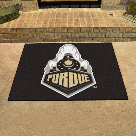 Purdue University All Star Area Rug Mat Model 1077