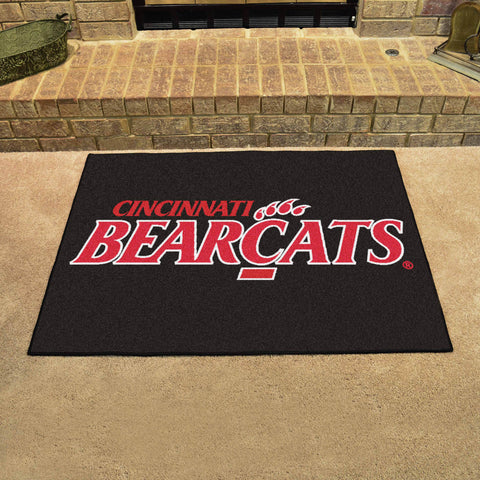 University of Cincinnati All Star Area Rug Mat Model 1246