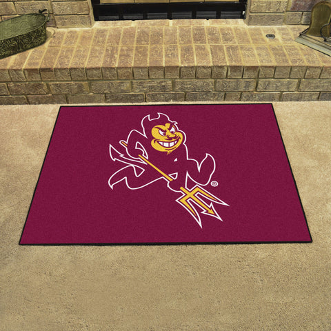 Arizona State University All Star Area Rug Mat Model 1400