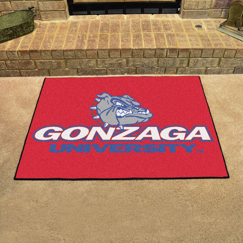 Gonzaga University All Star Area Rug Mat Model 1946