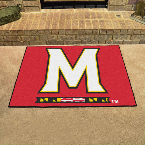 University of Maryland All Star Area Rug Mat Model 2444