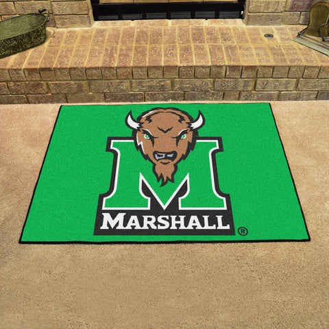 Marshall University All Star Area Rug Mat Model 3914