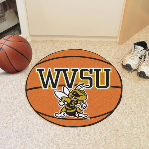 West Virginia State University Basketball Mat