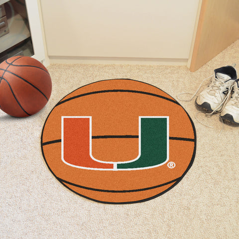 University of Miami Basketball Mat