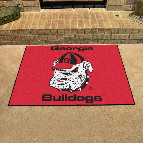 University of Georgia All Star Area Rug Mat Model 4956