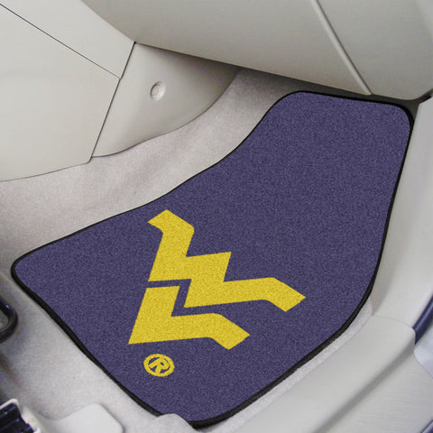 West Virginia University Carpet Car Mats