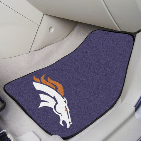 Denver Broncos Carpet Car Mats