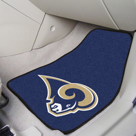 Los Angeles Rams Carpet Car Mats