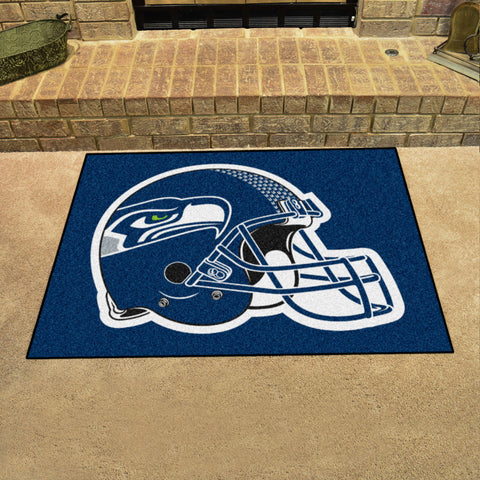 Seattle Seahawks All Star Area Rug Mat Model 5941