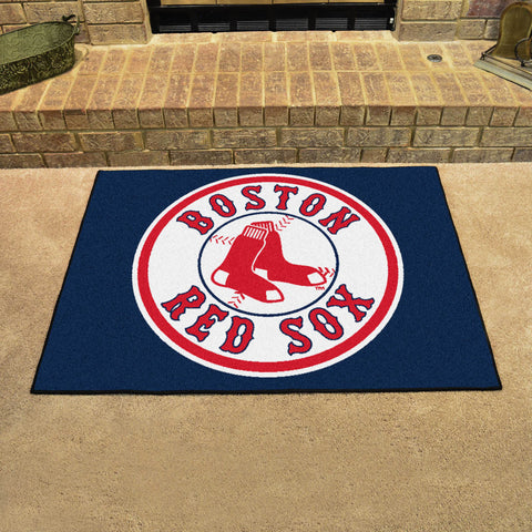 Boston Red Sox All Star Area Rug Mat Model 6331