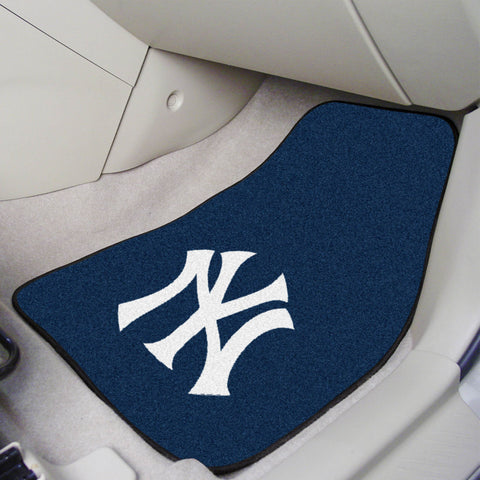 New York Yankees Carpet Car Mats