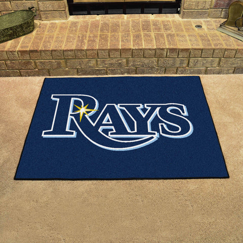 Tampa Bay Rays All Star Area Rug Mat Model 6349