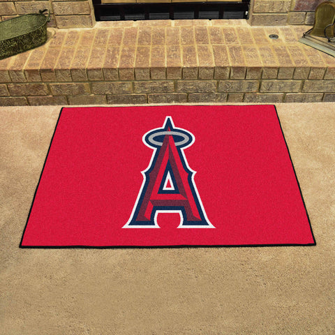 Los Angeles Angels All Star Area Rug Mat Model 6400