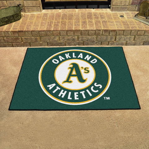 Oakland Athletics All Star Area Rug Mat Model 6407