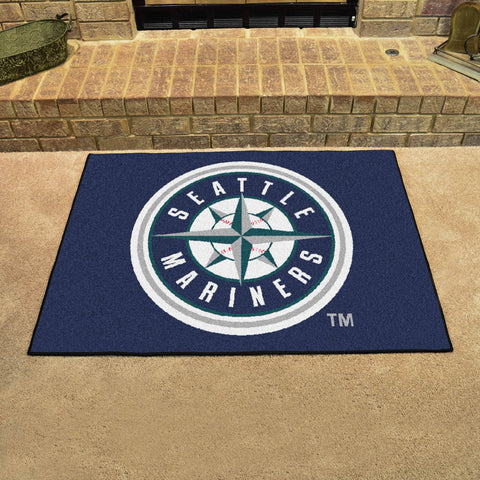 Seattle Mariners All Star Area Rug Mat Model 6414