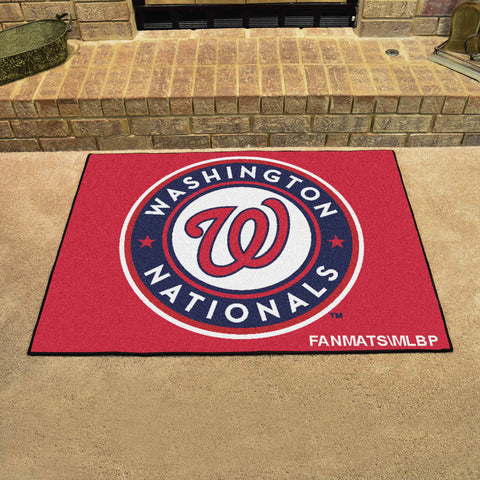 Washington Nationals All Star Area Rug Mat Model 6456