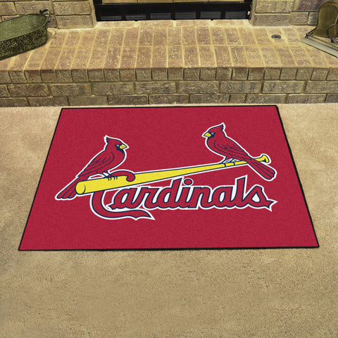 St. Louis Cardinals All Star Area Rug Mat Model 6502