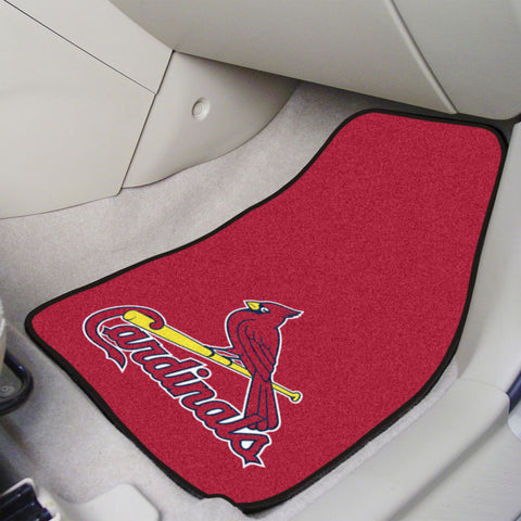 St. Louis Cardinals Carpet Car Mats