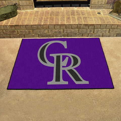 Colorado Rockies All Star Area Rug Mat Model 6516
