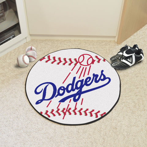 Los Angeles Dodgers Baseball Mat