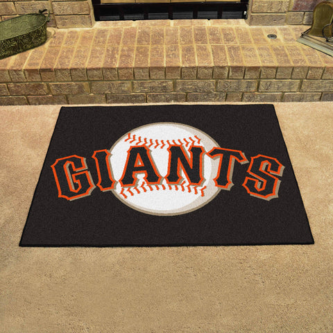 San Francisco Giants All Star Area Rug Mat Model 6538