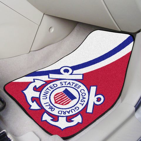 U.S. Coast Guard Carpet Car Mats