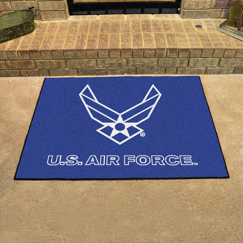 U.S. Air Force All Star Area Rug Mat Model 6978