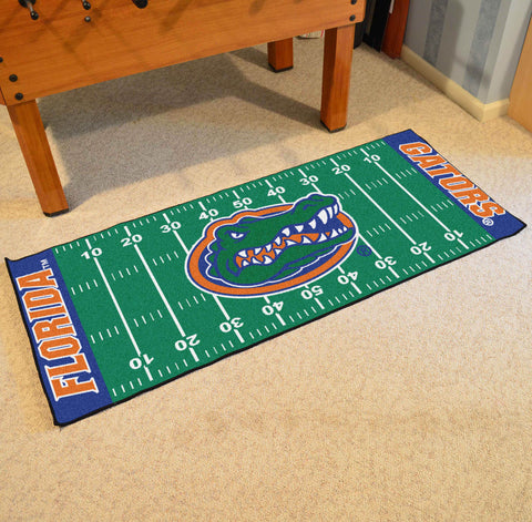 "Florida Football Field Runner Area Rug Mat by Fanmats 30""x72"" Item Number 7383"