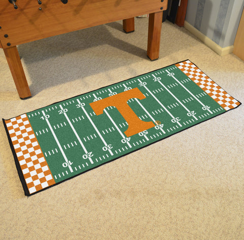 "Tennessee Football Field Runner Area Rug Mat by Fanmats 30""x72"" Item Number 7561"