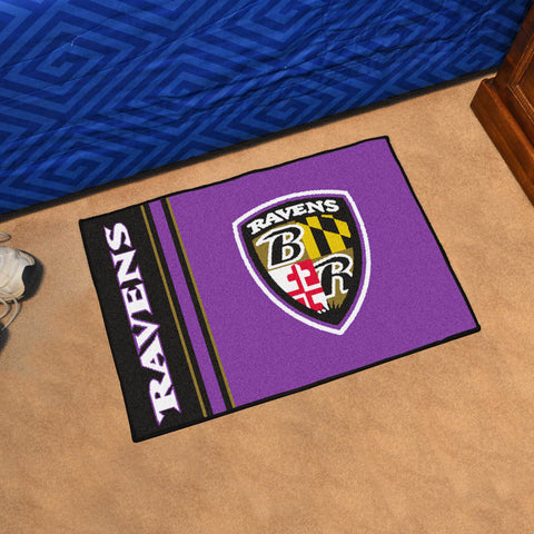 Baltimore Ravens Uniform Inspired Mat