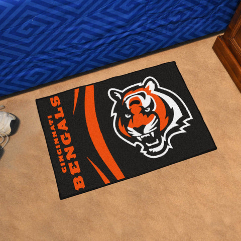 Cincinnati Bengals Uniform Inspired Mat