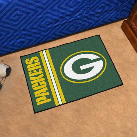 Green Bay Packers Uniform Inspired Mat