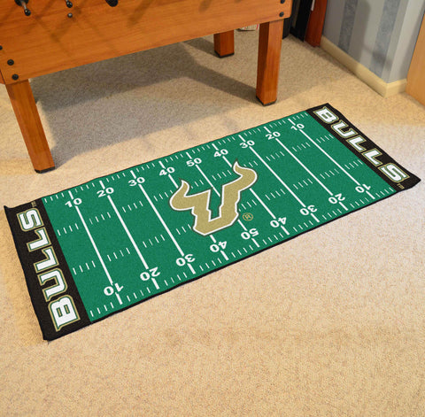 "South Florida Football Field Runner Area Rug Mat by Fanmats 30""x72"" Item Number 8794"