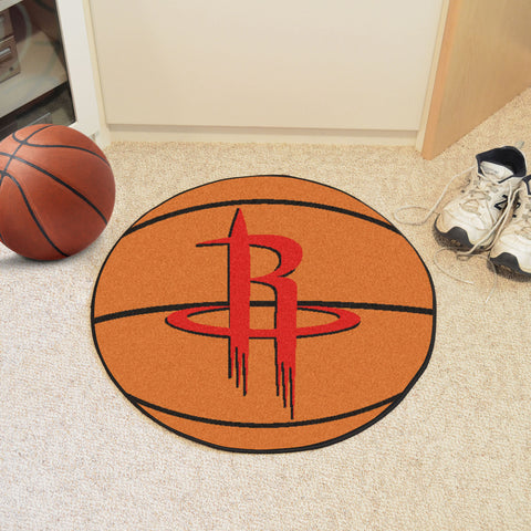 Houston Rockets Basketball Mat