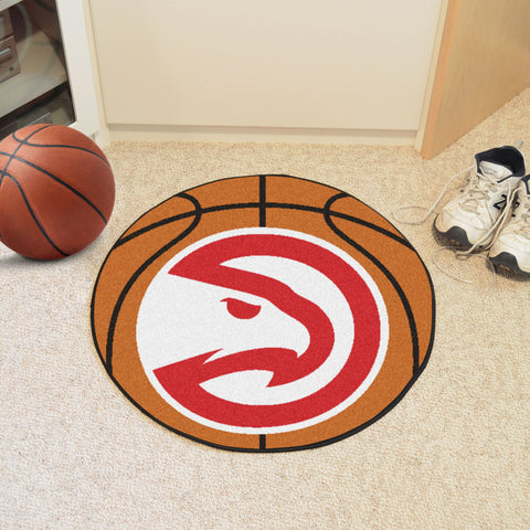 Atlanta Hawks Basketball Mat