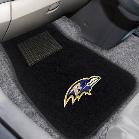 Baltimore Ravens Embroidered Car Mats