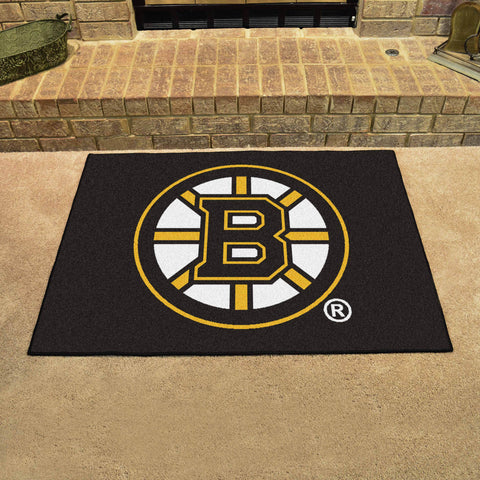Boston Bruins All Star Area Rug Mat Model 10492