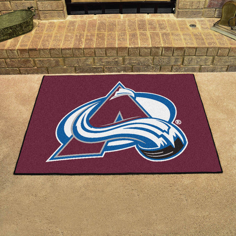 Colorado Avalanche All Star Area Rug Mat Model 10613