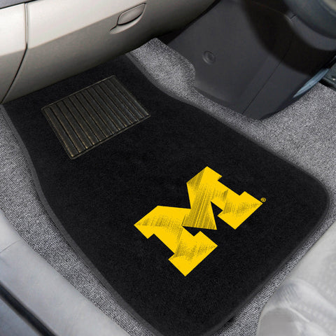 University of Michigan Embroidered Car Mats