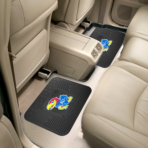 University of Kansas Rear Seat Mats