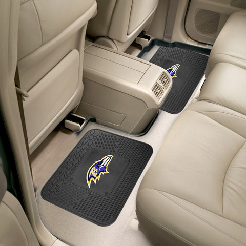 Baltimore Ravens Rear Seat Mats