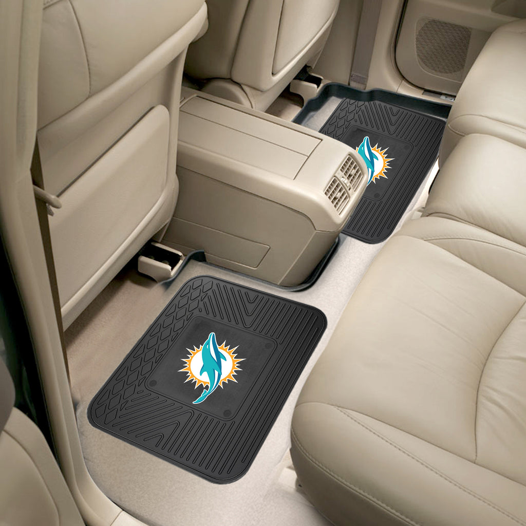 Brilliant Miami Dolphins Rear Seat Mats Pabps2019 Chair Design Images Pabps2019Com