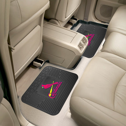 St. Louis Cardinals Rear Seat Mats